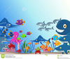 Animated Clipart Of Ocean Life And Creatures Image