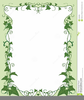 Ivy Border Clipart Image