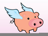 Cartoon Pigs Clipart Image