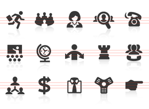 Management Icons Image