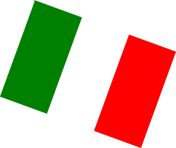 italian flag clip art at clker com vector clip art online royalty rh clker com italian flag clipart black and white