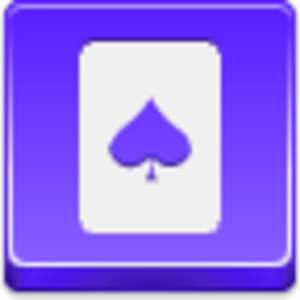 Free Violet Button Spades Card Image