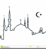 Mosque Clipart Vector Free Download Image