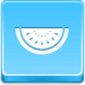 Free Blue Button Icons Watermelon Piece Image