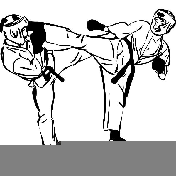 Karate Girl Clipart Free Free Images At Clker Com