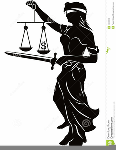 Free Blind Justice Clipart Image