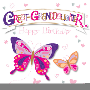 Happy Birthday Granddaughter Clipart Free Images At Clker Com Vector Clip Art Online Royalty Free Public Domain