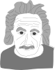 Albert Einstein Cartoon Clip Art