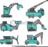 Cartoon Construction Vehicle Clipart Image