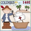 Christopher Columbus Day Clipart Image