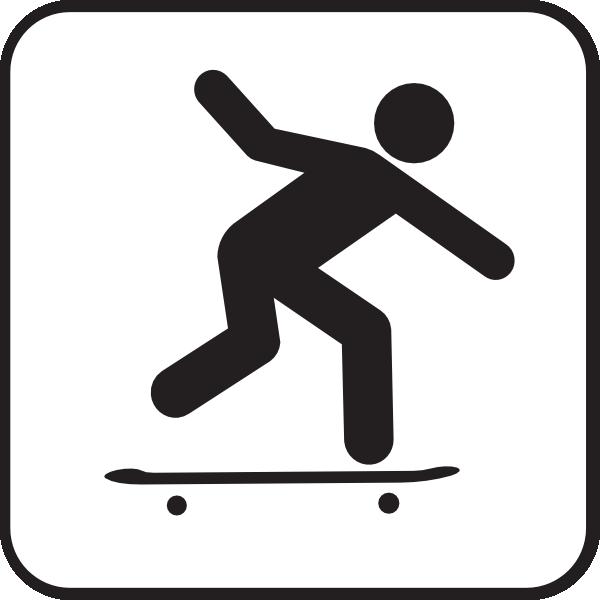 Skateboarding Clip Art at Clker.com - vector clip art online, royalty ...