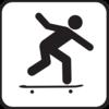 Skateboarding clip art