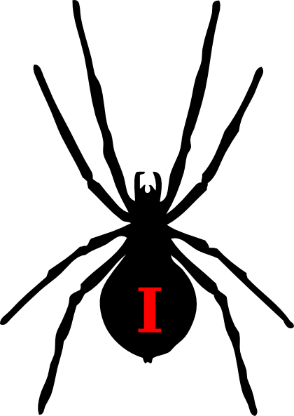 black widow spider silhouette - photo #9