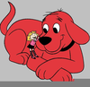 Free Clifford The Big Red Dog Clipart Image