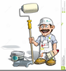 Animated House Painter Image