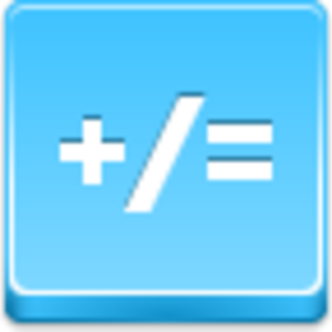 Free Blue Button Icons Math Image