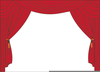 Clipart Stage Curtain Image