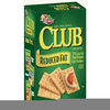 Club Crackers Nutrition Image