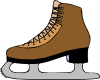 Ice Skate Shoe Clip Art