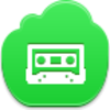 Free Green Cloud Cassette Image