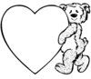 Heart Teddy Image