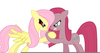Pinkamena And Fluttershy Image