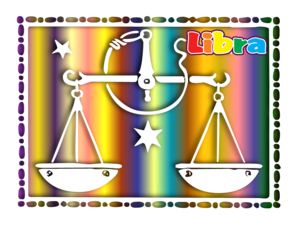 Libra Of The Zodiac Image