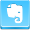 Free Blue Button Icons Evernote Image