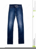 Free Clipart Blue Jeans Image
