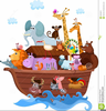 Noah Cartoon Clipart Image