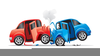 Animated Car Accident Clipart Image