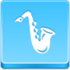 Free Blue Button Icons Saxophone Image