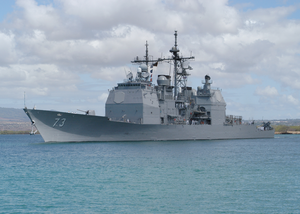 Uss Port Royal (ddg 73)  Departed On Deployment Image