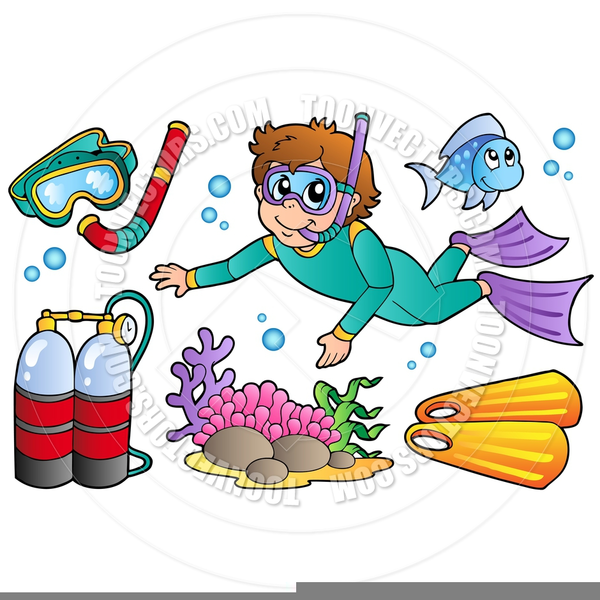 Free Scuba Diver Clipart   Free Images at Clker.com ...