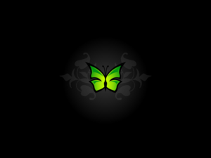 Simple Butterfly Wallpaper Image