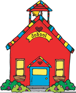 free schoolhouse clipart free images at clker com vector clip rh clker com school house clip art pictures school house clip art pictures