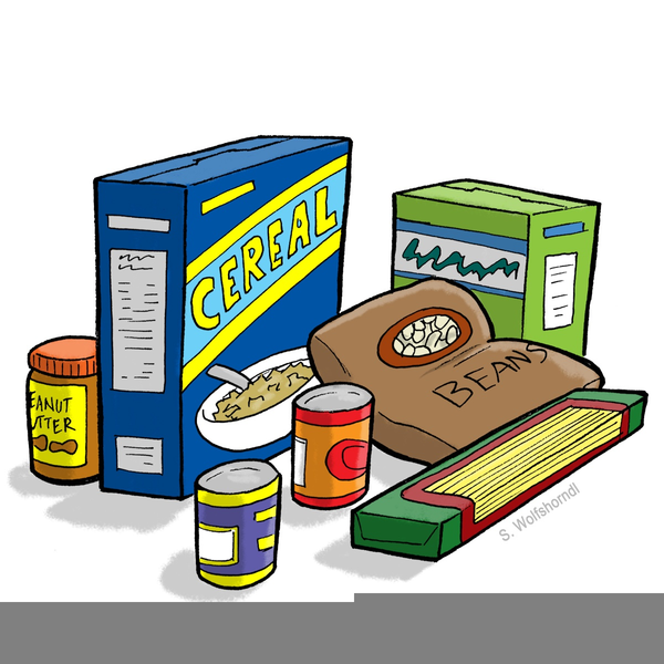 Canned Food Clipart Images Free Images At Clkercom Vector Clip