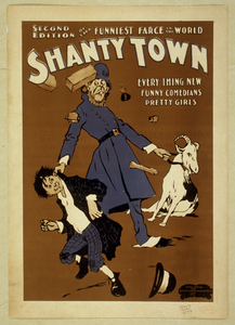 Second Edition Of The Funniest Farce In The World, Shantytown Everything New, Funny Comedians, Pretty Girls. Image