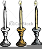 Candle Holder Clipart Image