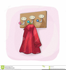 Hang Up Coat Clipart Image