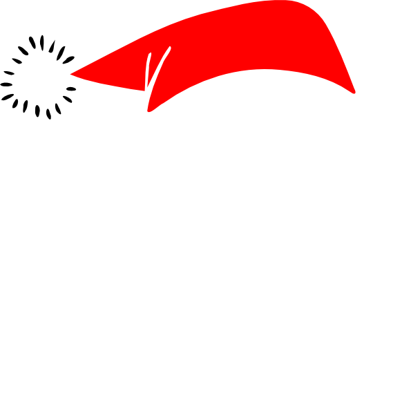 Blank Santa Face - Unfilled Clip Art at Clker.com - vector clip art ...