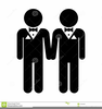 Gay Wedding Clipart Image