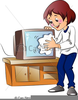 Clipart Television Set Image