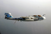 An Ea-6b Prowler Navigates During A Surface Search Contact (ssc) Mission Image
