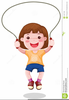 Animated Clipart Skipping Image