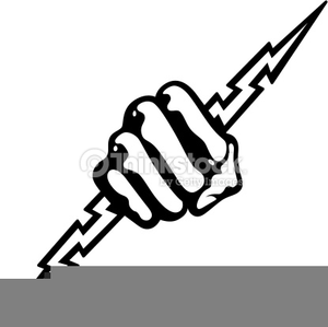 Animated Bolt Of Lightning Clipart Image