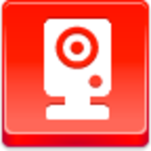 Free Red Button Icons Webcam Image