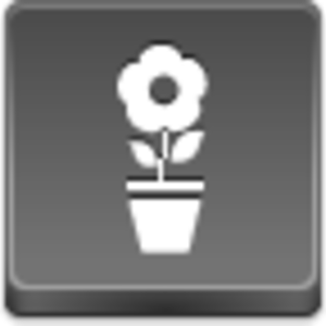 Free Grey Button Icons Pot Flower Image