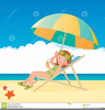 Beach Chair Clipart Image