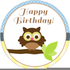 Clipart Boys Birthday Party Image